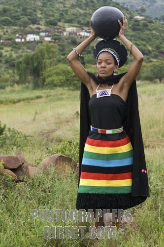 Zulu Culture Clothing lady of the Zulu cultureZulu Culture Clothing